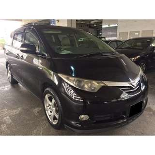 25/05/2018-28/05/2018 TOYOTA ESTIMA 7 SEATER HYBRID ONLY $330.00 (P PLATE WELCOME)