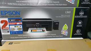 Printer EPSON L360.Promo gratis1x Angsuran