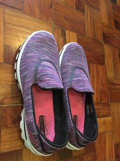 Skechers Goga Mat Technology Purple Shoes