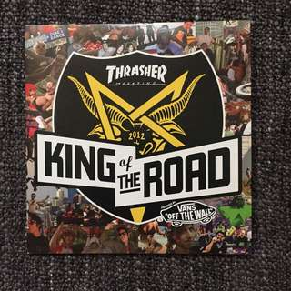 Thrasher King Of The Road 2012