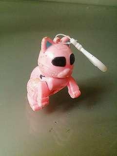 Serutan pensil bentuk robot kucing