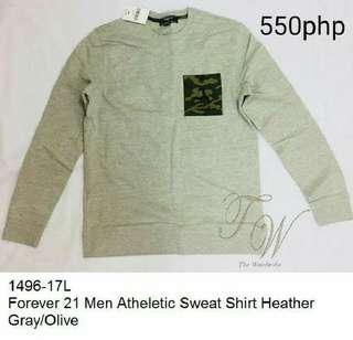 Forever 21 Men Athletic sweatshirt
