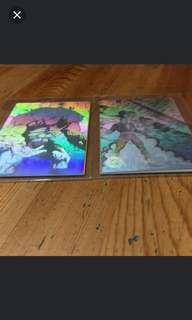 Holographic Cards DC Comics