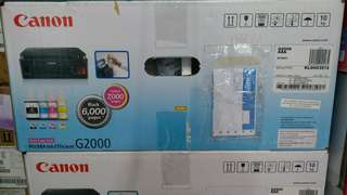 Kredit printer Canon G2000