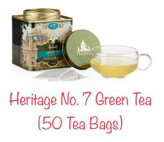 Harrods No.7 Green Tea (50 Tea Bags)