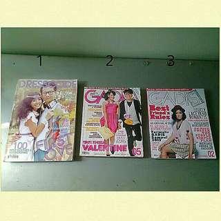Majalah dresscode & gadis koleksi anak 90-an