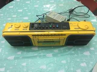 Sony 卡式帶收音機