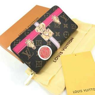 Louis Vuitton Zippy Wallet Limited Edition Summer Trunks 2018
