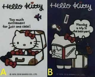 🚚 HELLO KITTY 悠遊卡 行李箱、環遊世界 兩款可挑