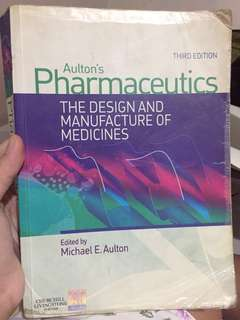 💥Aulton's Pharmaceutics 3rd edition -Pharmacy book