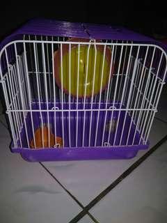 Kandang hamster ukuran kecil