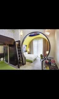RWS hotel Hardrock /Michael/Festive June 3d2n