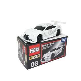 Tomica  Premium 08 LEXUS RC F GT500 (Box)