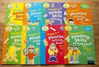 Oxford Activity Books - Set of 8 books