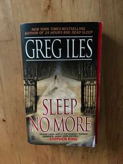 "Greg Iles' ""Sleep No More"""