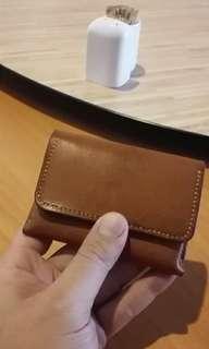 Mini handmade cardholder