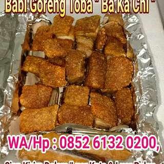 """Babi Goreng Toba """"BaKaChi"""" + 3 Sambal Cabenya"""