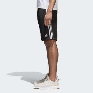 【吉米.tw】adidas Ess Mesh Short 網狀 短褲 愛迪達 黑色 三線 運動  Cd8272 MAY