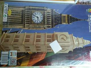 NEW! Big Ben 3D Wood Puzzle