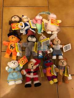 12 baby beanie kids $8 the lot all have tags