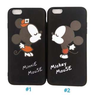 Minnie Mickey Mouse Couple iPhone Case 5/5s/5se 6plus/6splus
