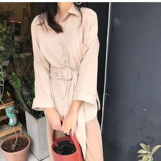 Apricot Buckle top