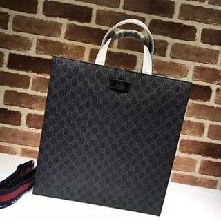 Gucci tote bag black brown men sling bag