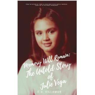 The JULIE VEGA E-Book