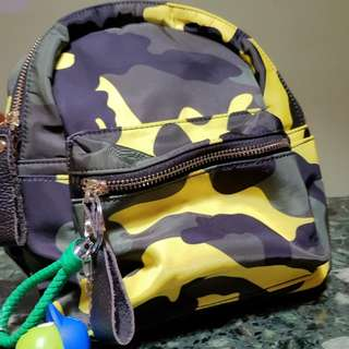 Cute mini camouflage design bag