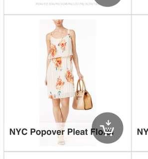 NYC pleat dress