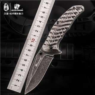 Tactcal Carp Folding Knife 战术鲤折叠刀C-254