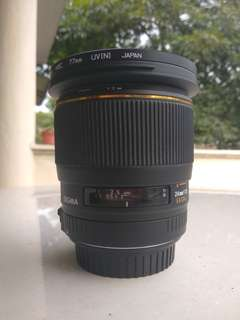 Sigma 24mm f/1.8 Macro (Canon mount)