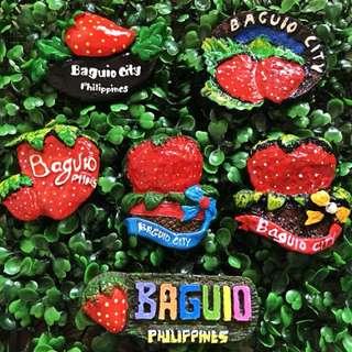 baguio souvenir ref magnet