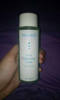Wardah pore thightening toner