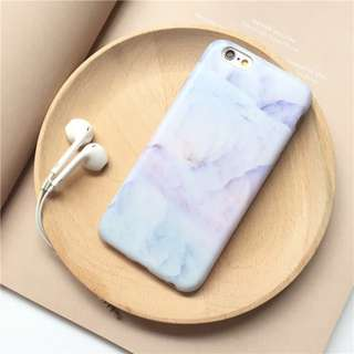 Pastel Rainbow Marble iPhone Case for 6 / 7 / 8 + / X