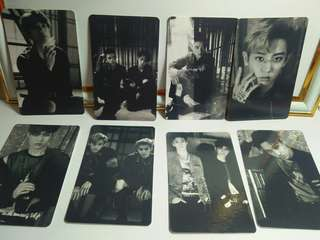 EXO Lotto Unofficial Cards