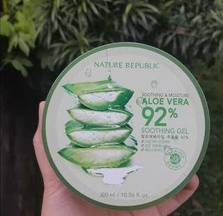 Aloe Vera 92% shooting gel