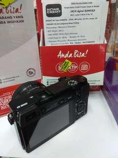 Kredit Kamera Sony a6000 Ready Fujifilm, Canon, Nikon