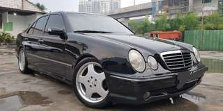 Mercedes Benz W210 E320 Avantgarde AMG Package