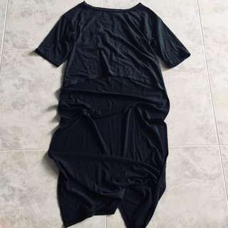 SALE😚 UK12 $12 crop dropback shirt