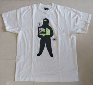 BBC ICE CREAM BAPE 太空人 Box Tee