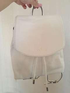 Kate Spade 白色小背包 背囊