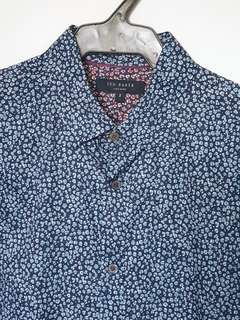 Ted Baker Men's Printed Button Down