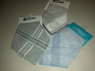 Handkerchief for men. 3pcs