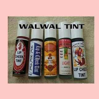Walwal liptints