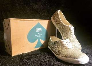 Keds x Kate Spade NY champion glitter gold