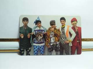 SHINee - Dream Girl Official Photocard (Group)