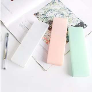 Translucent Pencil Box/Case with pastel colours