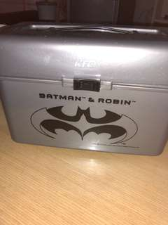 Batman and robin lunch box