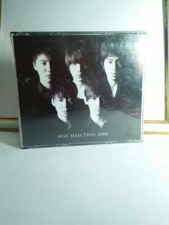 Tohoshinki Best Selection 2010 CD+DVD